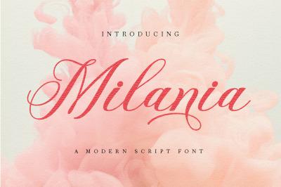Milania Script