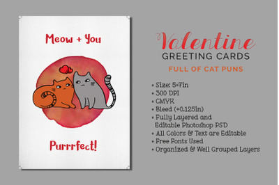 3 Valentine's Greeting Cards