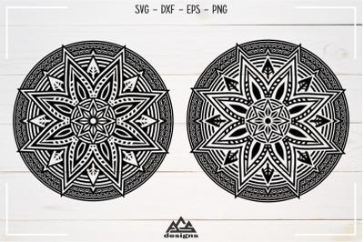 Mandala Zentangle Svg Design