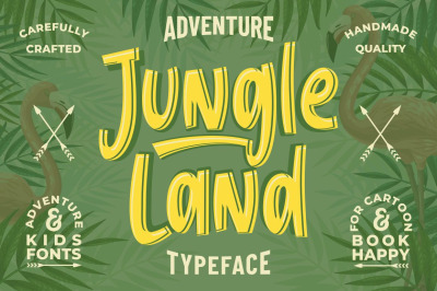 Jungle Land - Kids Typeface