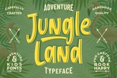 Jungle Land - Kids Typeface