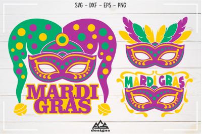 Mardi Gras Mask Svg Design