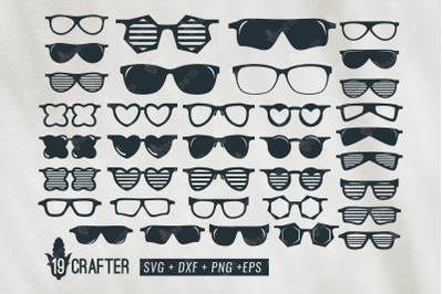 cool glasses svg big bundle