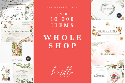 10 000 ITEMS WHOLE SHOP BUNDLE