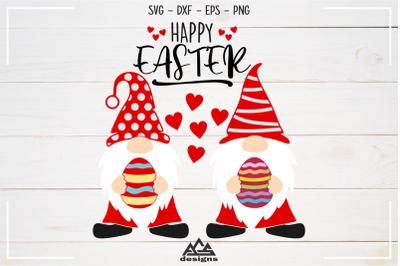 Happy Easter Gnome Svg Design
