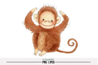 Monkey | PNG/JPEG | Single Image