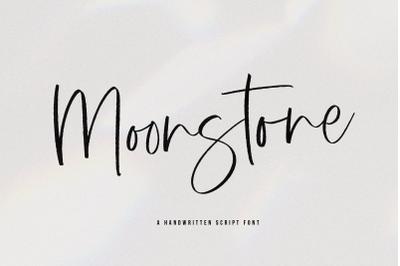 Moonstone - Handwritten Script Font