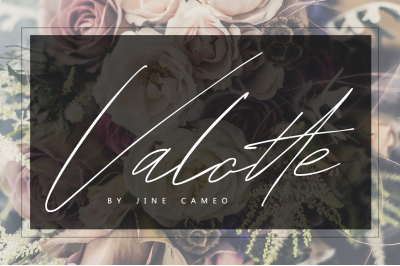Valotte - By Jine Cameo