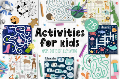Activities for Kids Big Collection