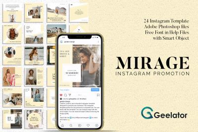 Mirage - Instagram Template