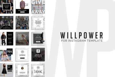 Will Power - 15 Instagram Template
