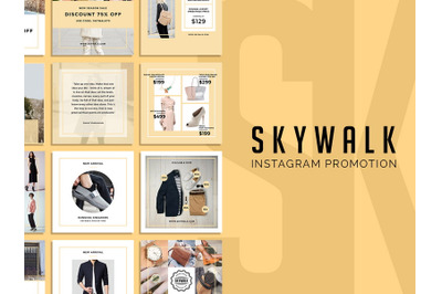 Skywalk - Instagram Template