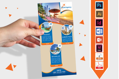 Rack Card   Travel   DL Flyer Vol-01