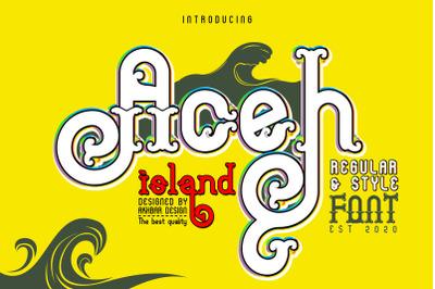 Aceh island