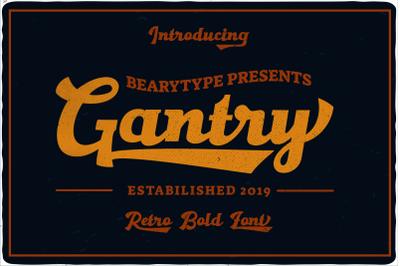 Gantry - Retro Classic Font
