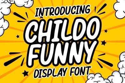 Childo || Funny Font