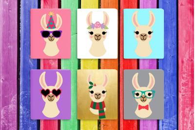 Llama Set | SVG | PNG | DXF