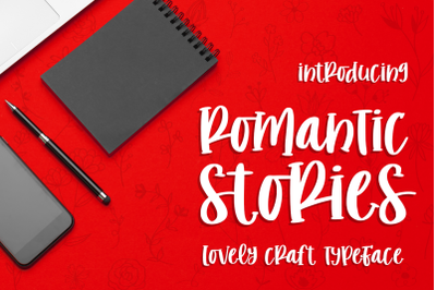 Romantic Stories - Craft Typeface -
