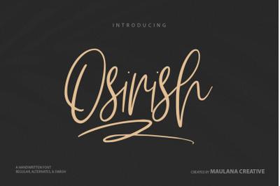 Osirish Handwritten Font
