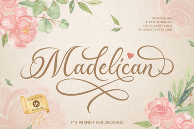 Madelican / Calligraphy Font