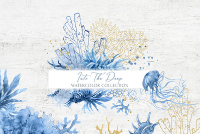 INTO THE DEEP Watercolor Collection