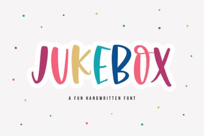 Jukebox - Fun Handwritten Font