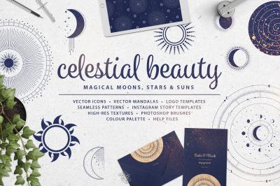 Celestial Beauty Design Resources Kit