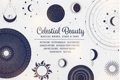 Celestial Beauty Design Resources Kit