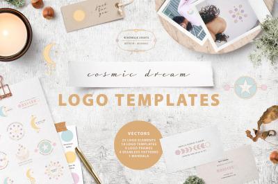 Cosmic Dream Logo Template Kit