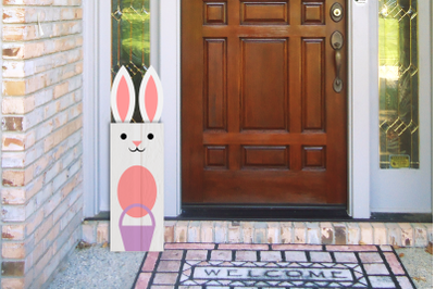 Easter Bunny Porch Sign | SVG | PNG | DXF