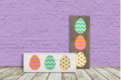 Easter Egg Porch Sign | SVG | PNG | DXF