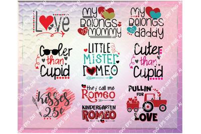Valentine SVG - Valentine SVG Bundle - Bundle SVG - Love svg - Cupid