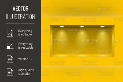 Niche for presentations