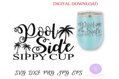 Pool Side Sippy Cup