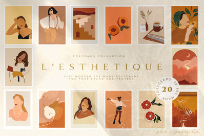 L'esthetique Modern Collection