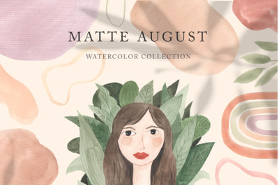 Modern Watercolor Graphic Collection