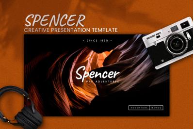 Spencer -Creative Google Slides Template