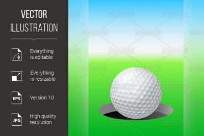 """""""Golf ball"""""""