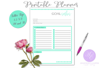 Goal Crusher Planner Page