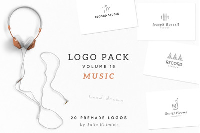 Logo Pack Volume 15. Music