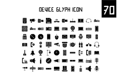 Device Glyph Icon