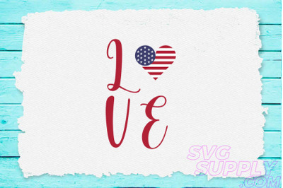 Love america svg for america tshirt