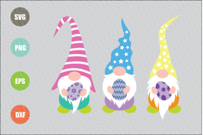 Easter Gnomes SVG