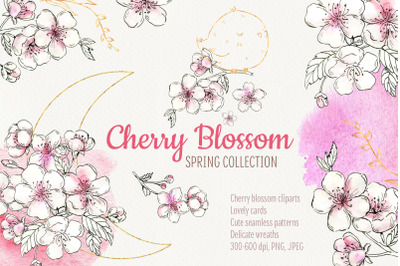 Cherry Blossom. Spring collection