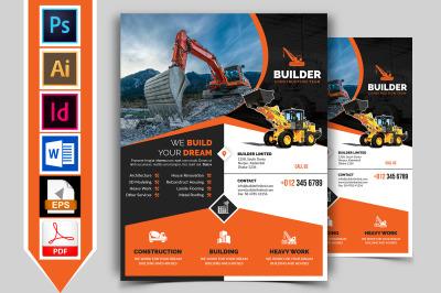 Construction Flyer Template Vol-02
