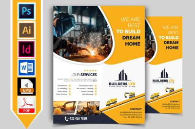 Construction Flyer Template Vol-06