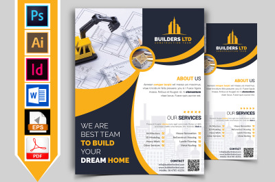 Construction Flyer Template Vol-07