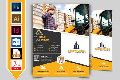 Construction Flyer Template Vol-08