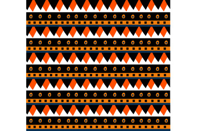 Ethnic mexican pattern. Vector illustration