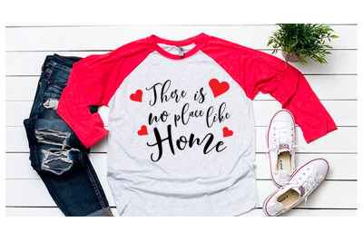 There is no place like home svg for baseball tshirt